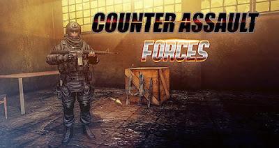 تحميل لعبة Counter assault forces للاندرويد