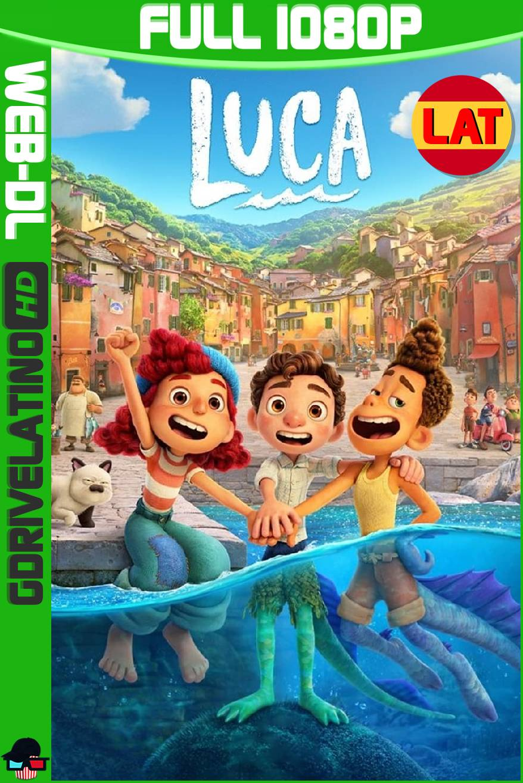 Luca (2021) DSNP WEB-DL 1080p Latino-Ingles MKV