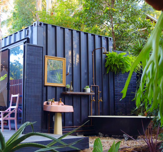20 ft Small and Cozy Shipping Container House, NSW, Australia 7