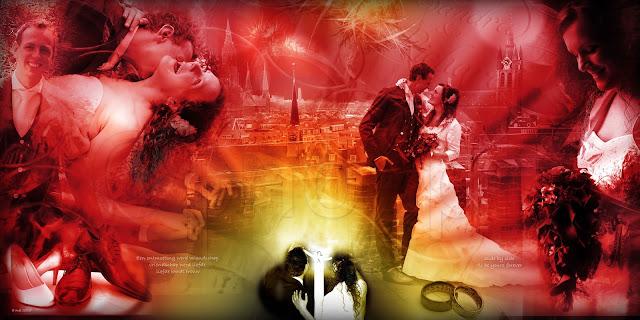 fotocollage van je bruiloft laten maken