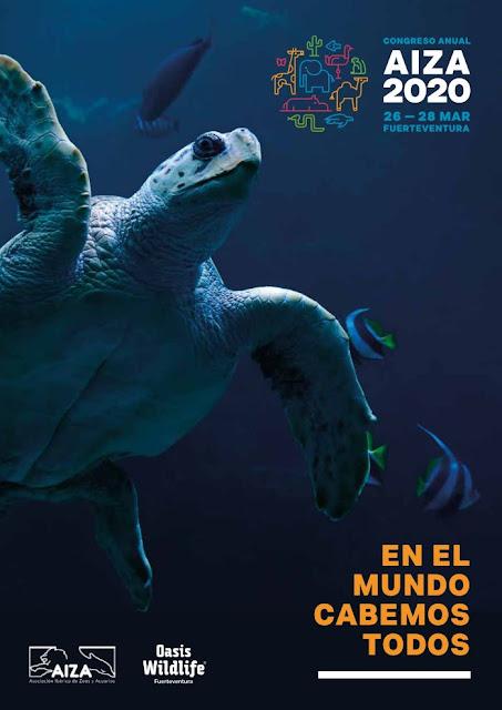 folleto%2BAIZA%2B2020%2B - Oasis Wildlife Fuerteventura acoge a más de 200 expertos en biodiversidad como anfitrión del Congreso AIZA 2020