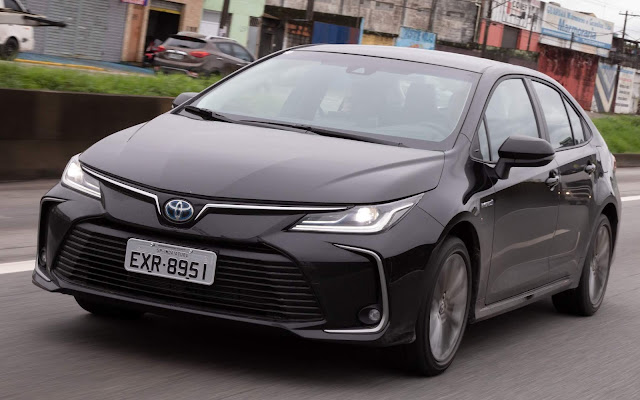 Novo Toyota Corolla Híbrido 2020 - Premium