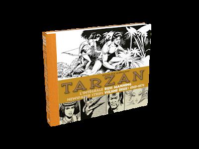 Tarzan : Intégrale Russ Manning Newspaper strips Volume Deux : 1969 - 1971 éditions Graph Zeppelin