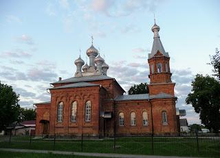 Лунинець. Свято-Хрестовоздвиженська церква. 1921 р.