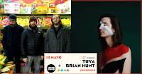 Concierto Tuya y Brian Hunt en Sala Copérnico en Sound Isidro