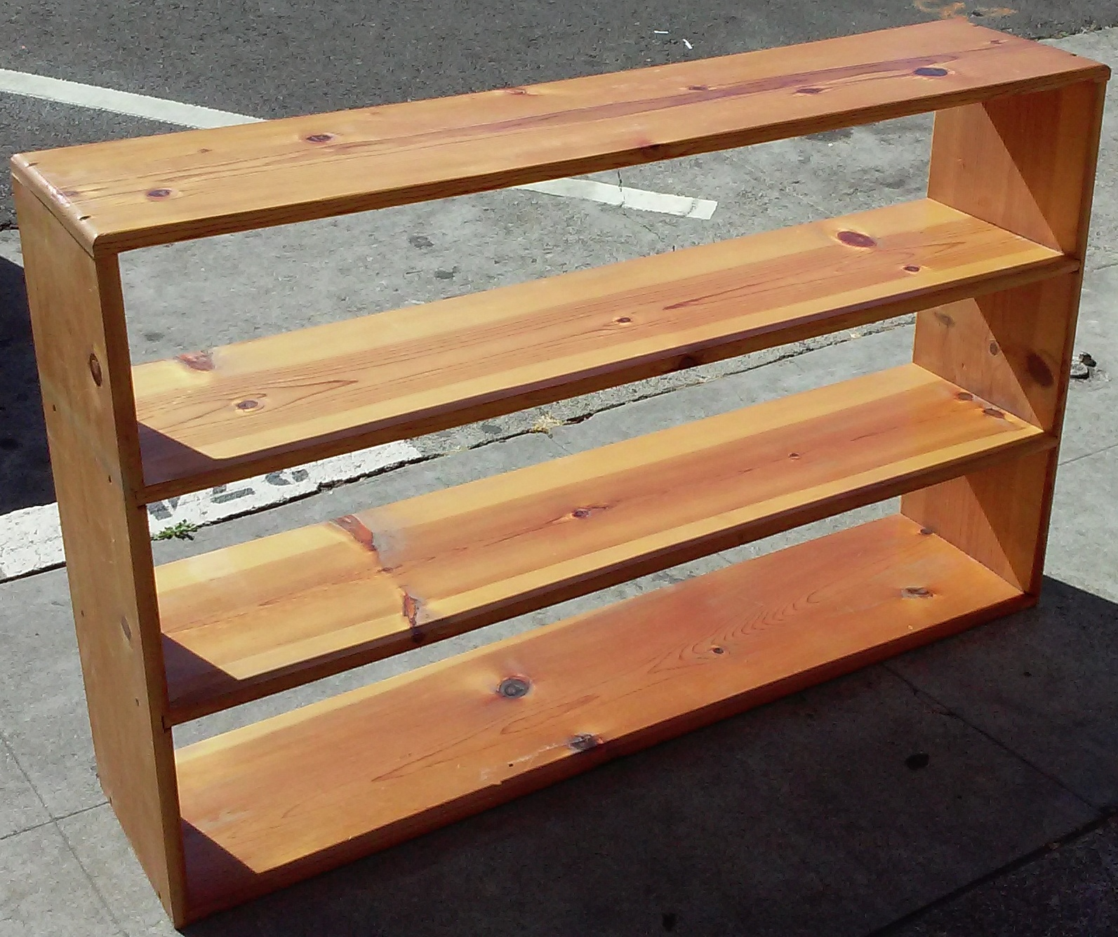 Uhuru Furniture Collectibles Sold 4 39 X 2 1 2 39 Knotty Pine Shelf 35