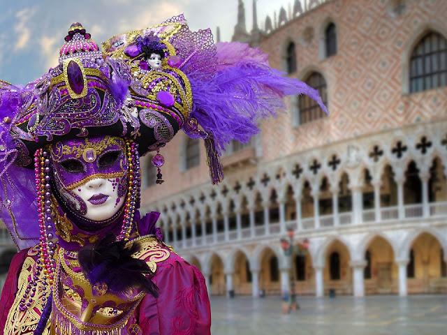 Il carnevale di Venezia in famiglia