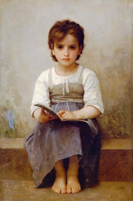 Адольф Вильям Бугро - Трудный урок (1884)