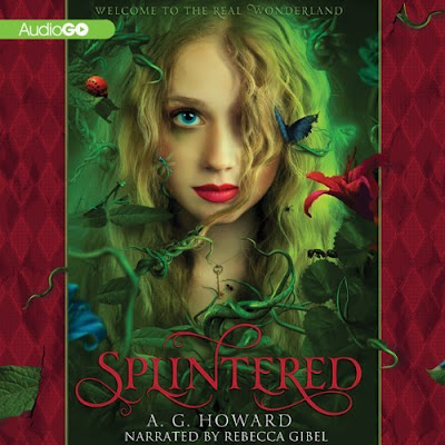 Splintered Audiobook Cover