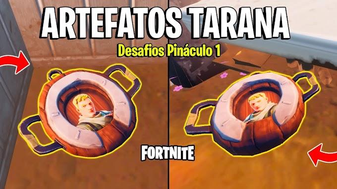 Fortnite – Localização de todos os Artefatos da Tarana