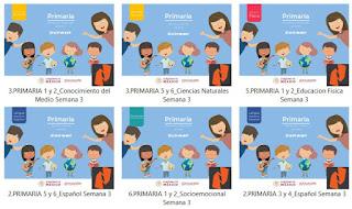 Primaria Materiales de Estudio para Aprendizaje en Casa
