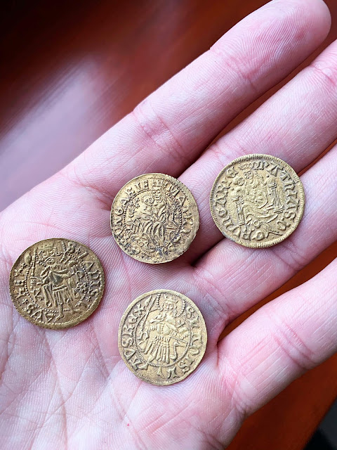 Archaeologists discover massive Medieval coin hoard in Central Hungary