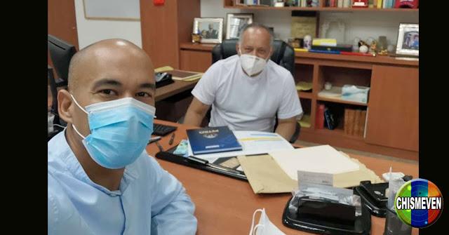 Héctor Rodriguez publica foto de Diosdado Cabello aún con vida