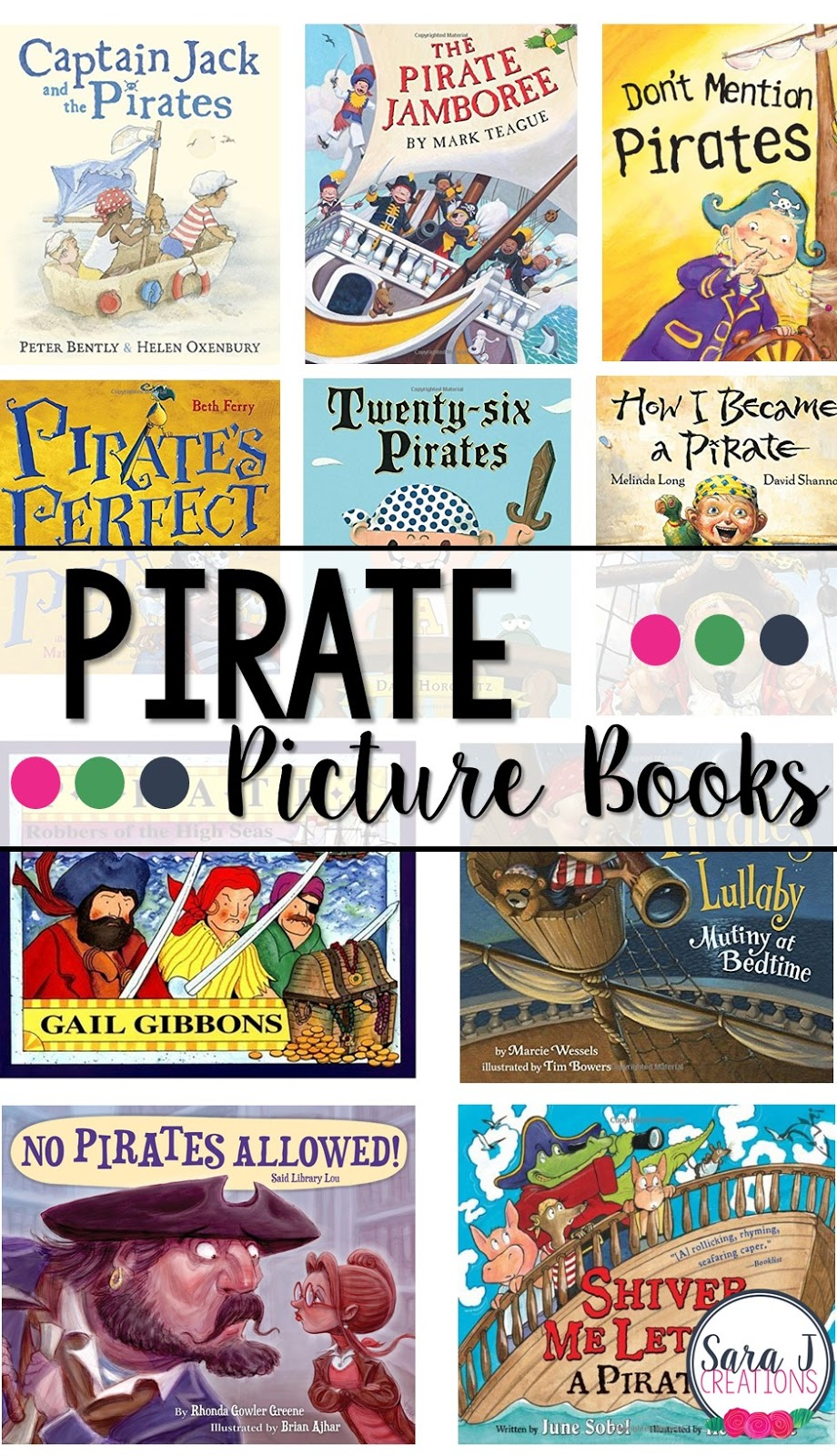 10 Pirate picture books for kids