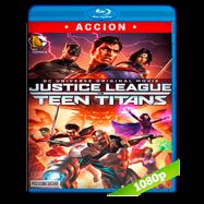 La Liga de la Justicia contra los Jóvenes Titanes (2016) Full HD 1080p Latino