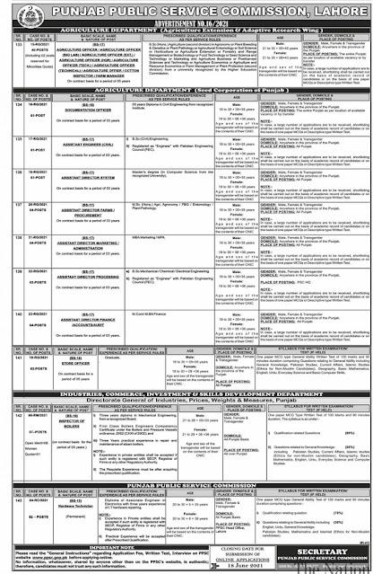 punjab-public-service-commission-ppsc-jobs-2021-advertisement-no-16