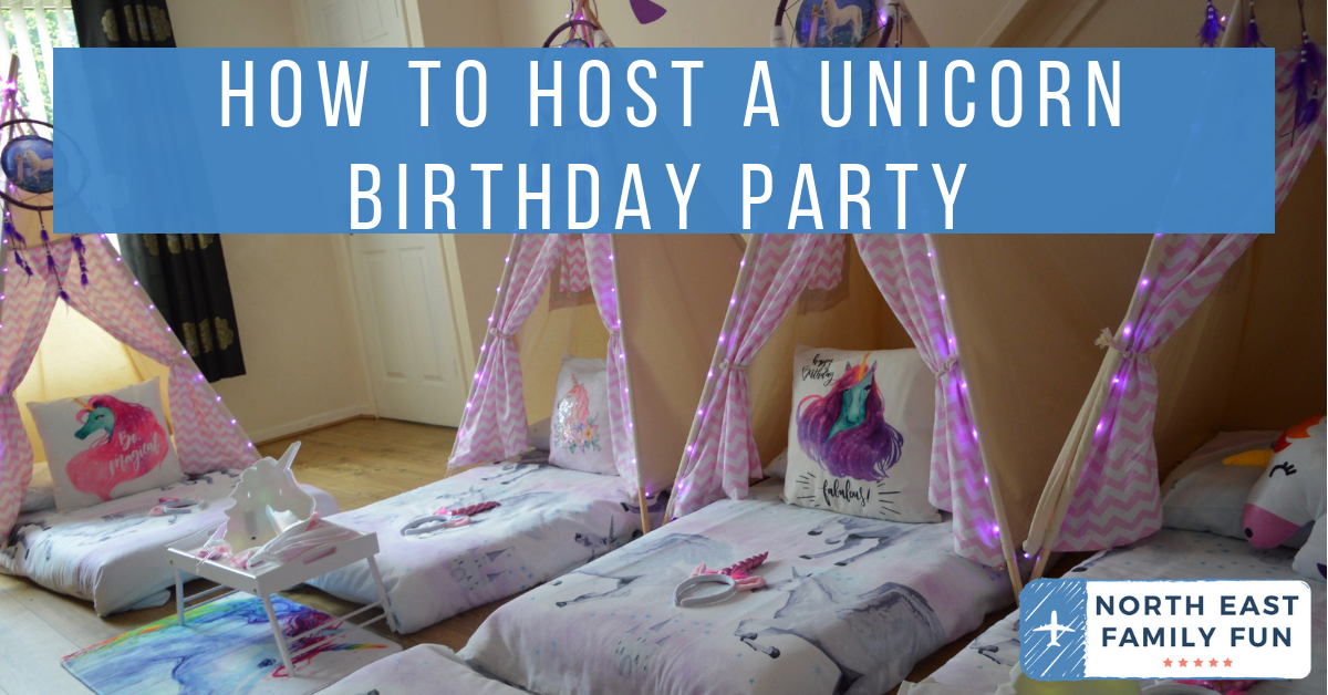 How to Host a Unicorn Birthday Party