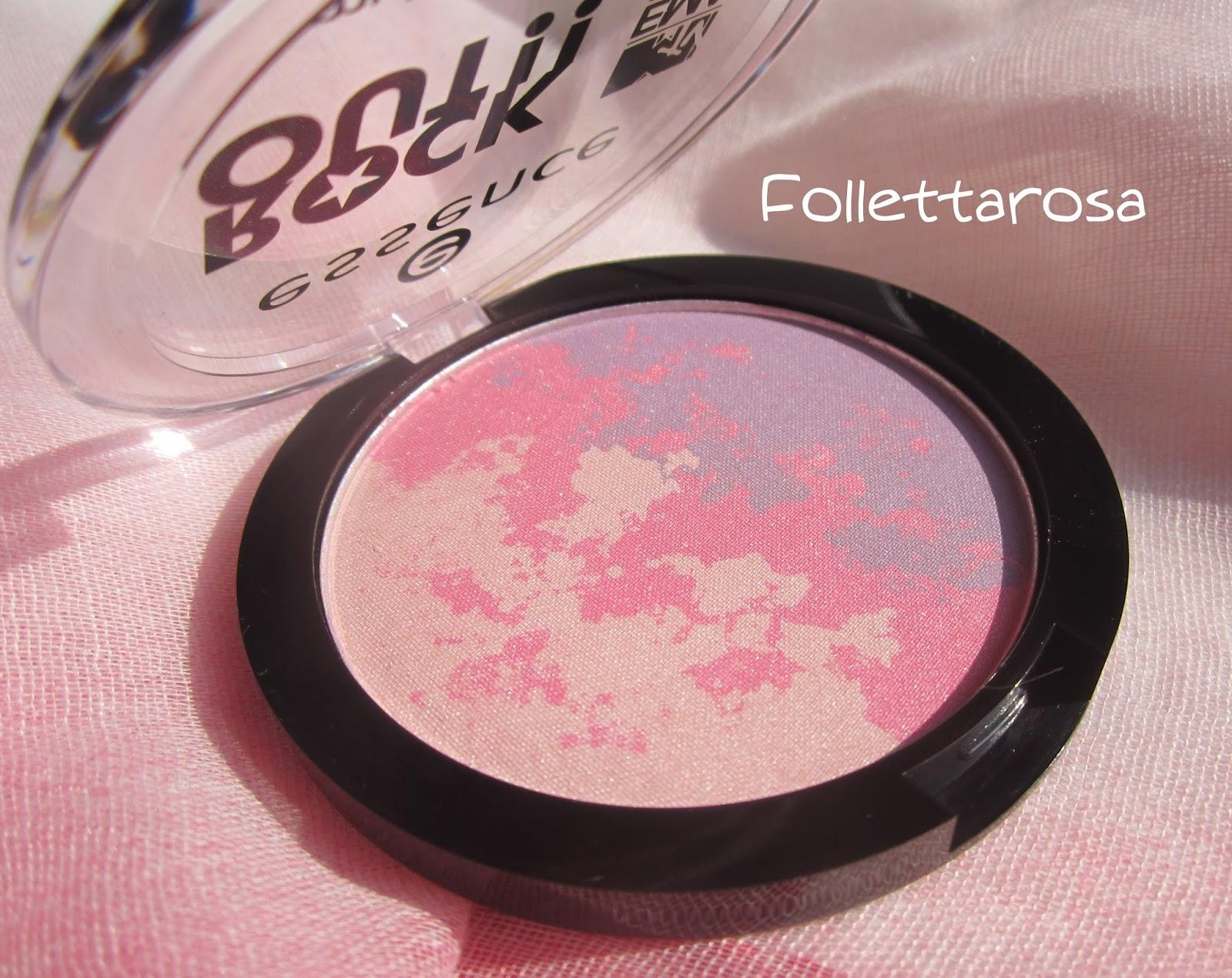 multicolour blush essence rock out