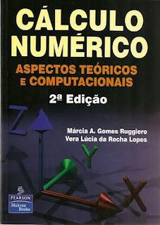 capa livro Cálculo numérico aspectos teóricos e computacionais