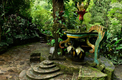 Escultura del Jardín del Edén de Edward James