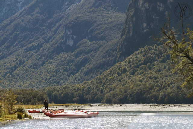 man, kayak, river, mountains