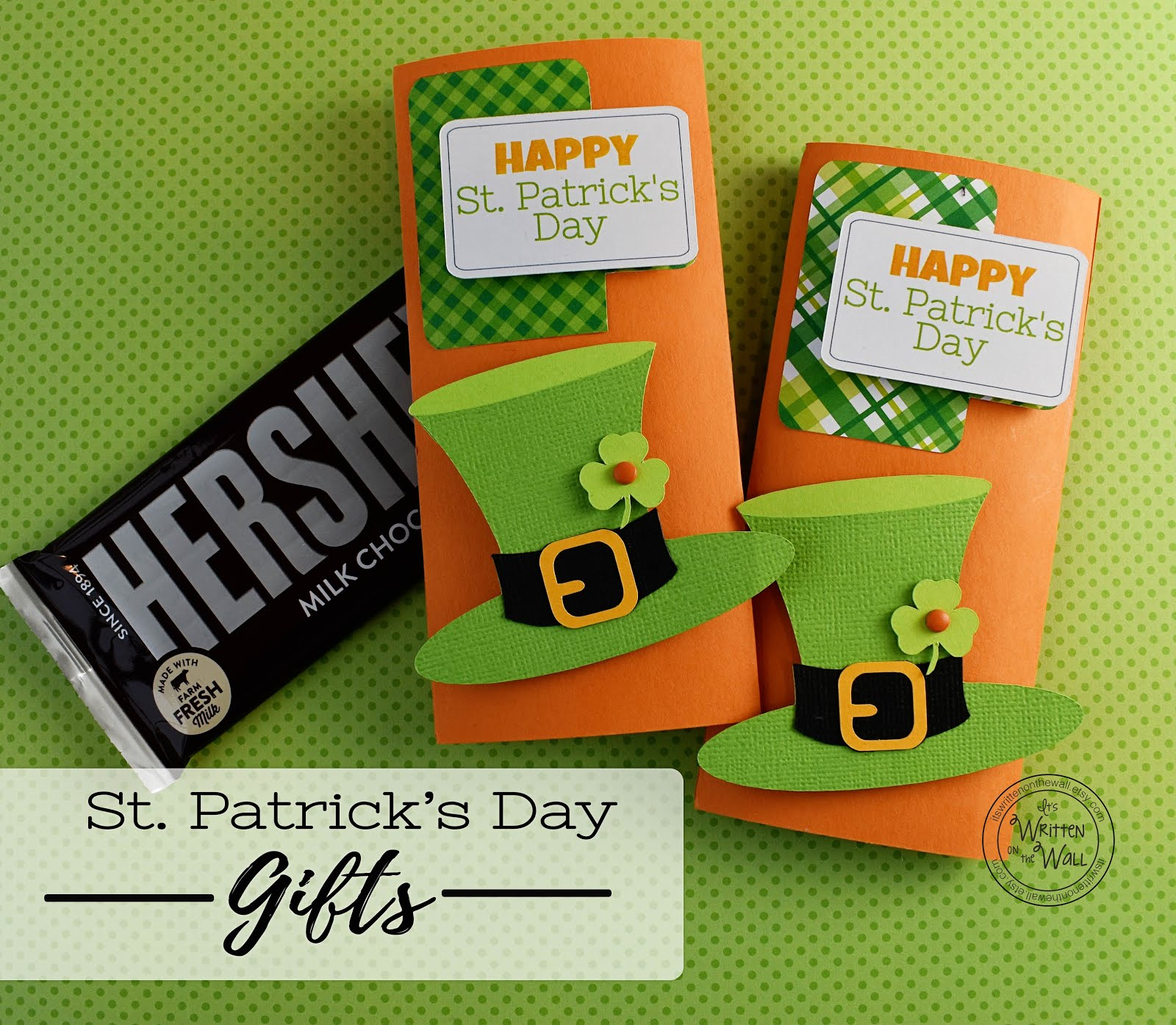 St. Patrick's Day Candy Card