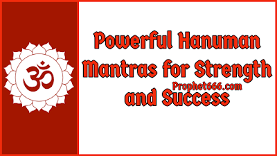 Powerful Hanuman Mantras for Courage and Brains