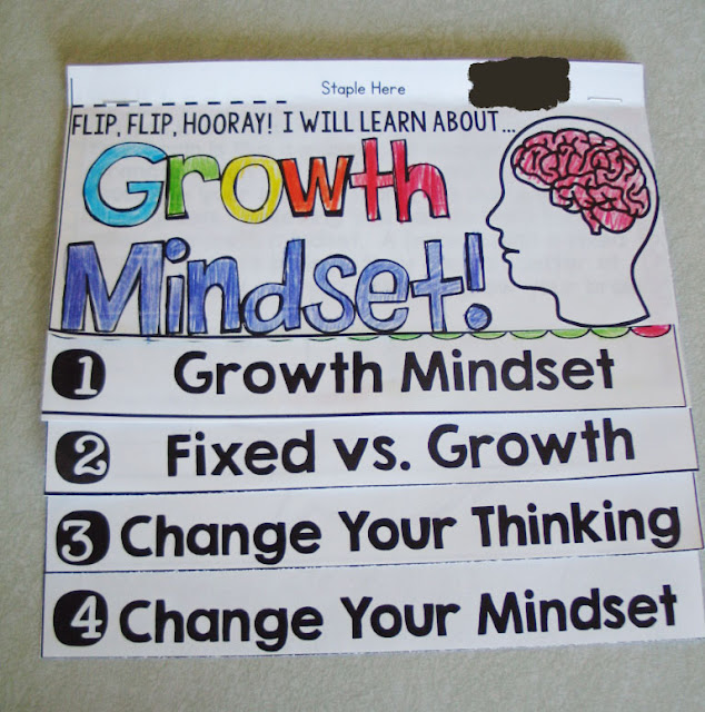 Growth Mindset Flapbook