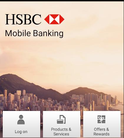 HSBC Mobile Banking App