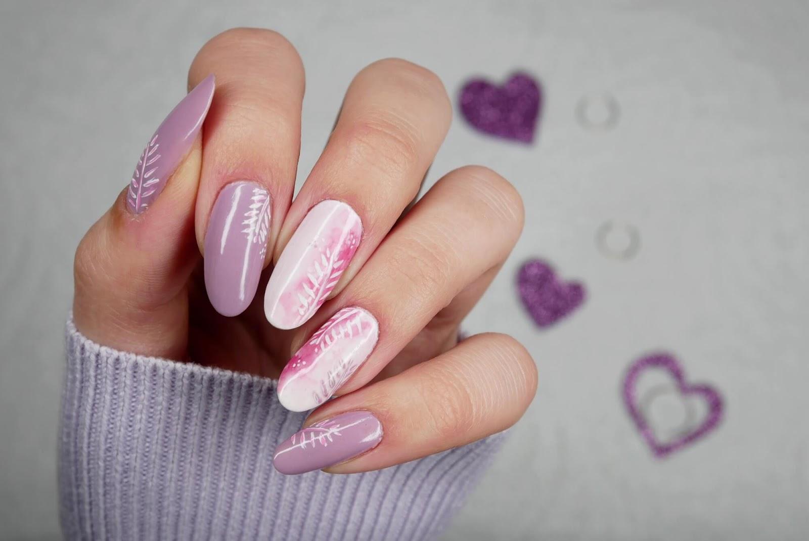 blur effect - zdobienie paznokci
