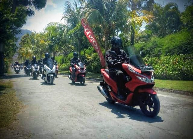Honda PCX 150 Luxurious Trip Bali 2019