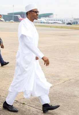Are these President Buhari's shoes really $8000? (photos)