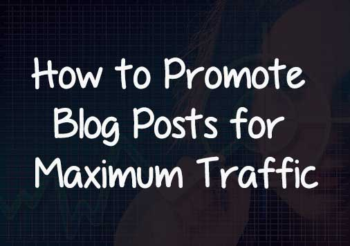 How to Promote Blog Posts for Maximum Traffic: eAskme