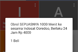 Paket Obrol SEPUASNYA Indosat Ooredoo 1000 Menit 24 Jam