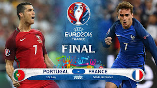 Portugal VS Prancis - Live Streaming Uro 2016 Final