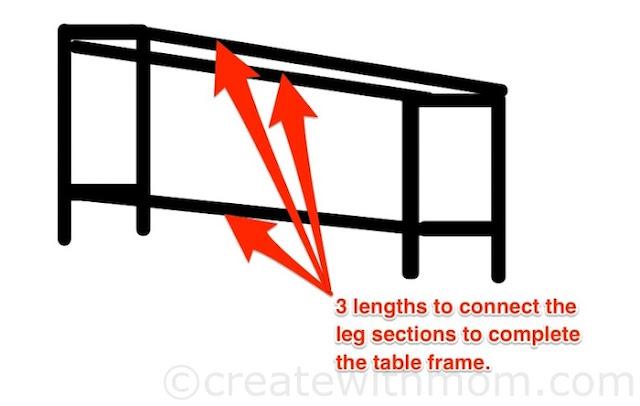 computer table DIY