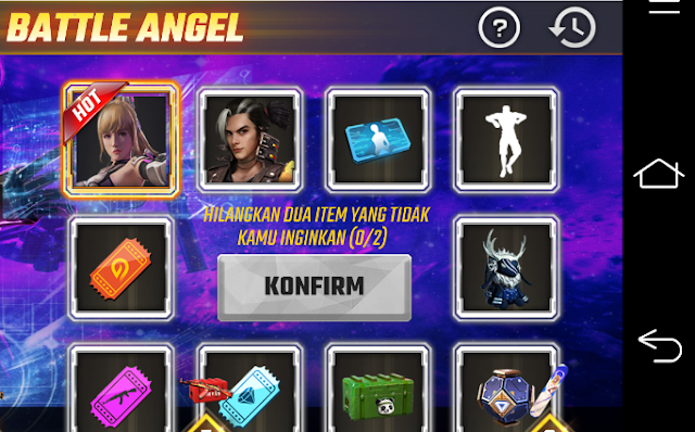 Cara Membuka Event Faded Wheel Battle Angel Error Blank Putih Free Fire