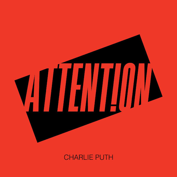 Charlie Puth - Attention - Single Cover