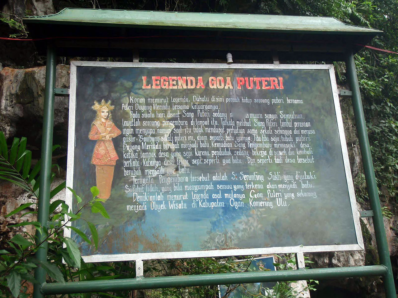 Goa Putri Ktd Tenda Dome