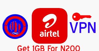 Airtel 1GB for N200 UT Loop VPN Settings