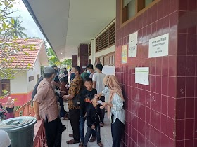 Antusias ikuti PSU Gubernur Jambi, Masyarakat Pijoan Ramai Datangi TPS
