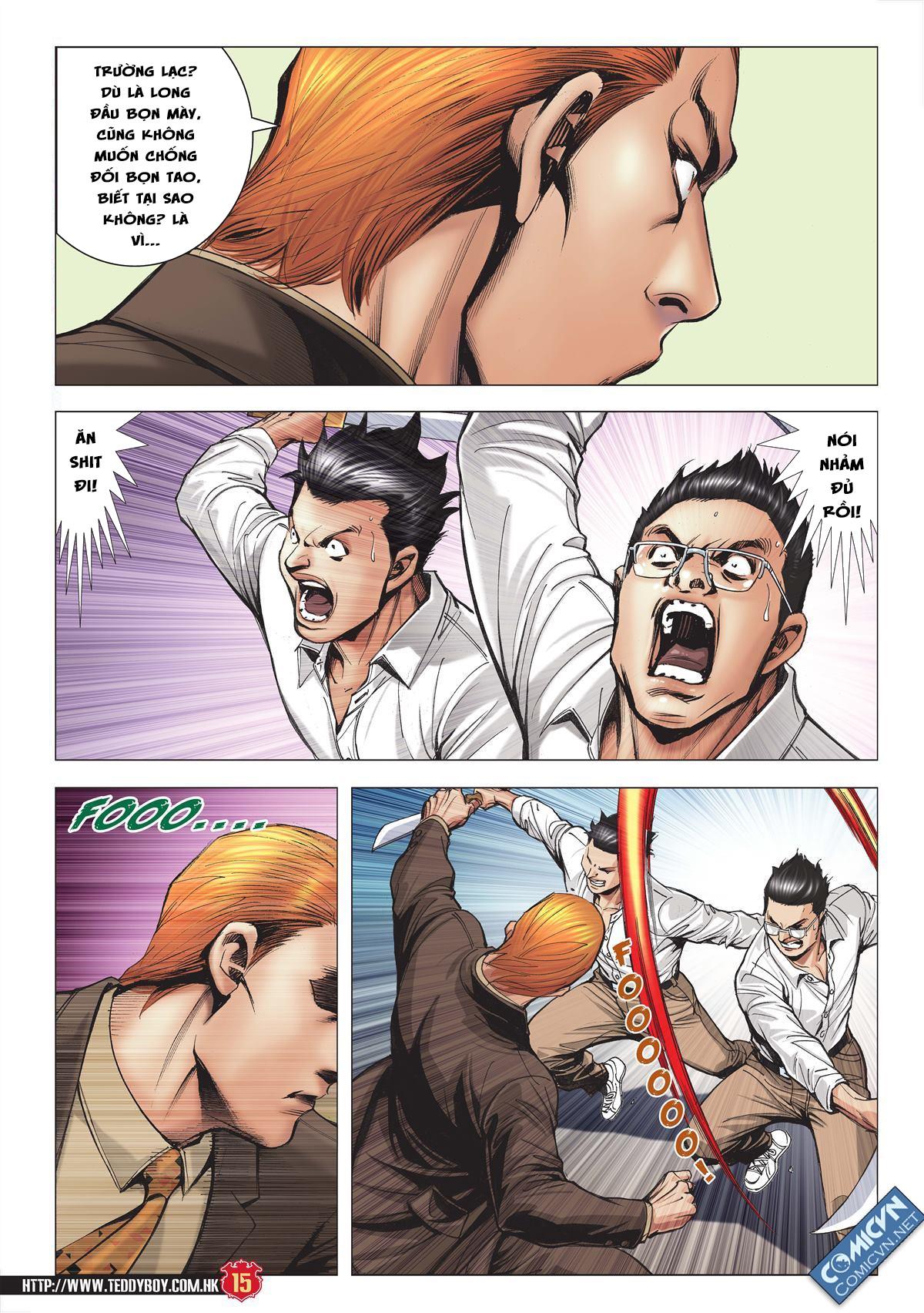 Người Trong Giang Hồ chapter 1997: triệu oánh vs đinh dao trang 13