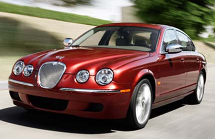 LUXURY CAR Jaguar S-Type (2008)