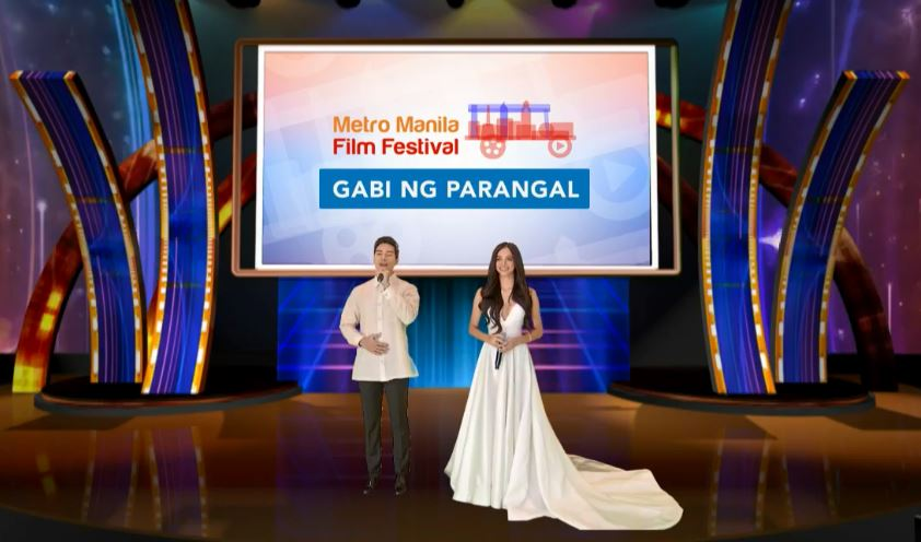 Gabi ng Parangal was hosted by Marco Gumabao and Kylie Verzosa