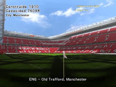 PES 6 UEFA Champions League Stadium Collection