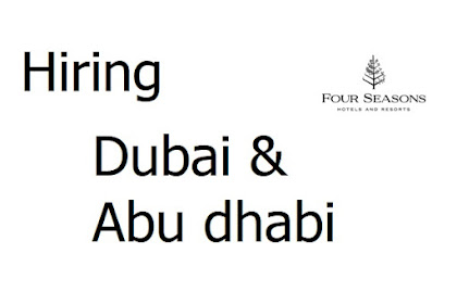 Four Seasons Hotels: Open job opportunities | Dubai and Abu Dhabi 2021