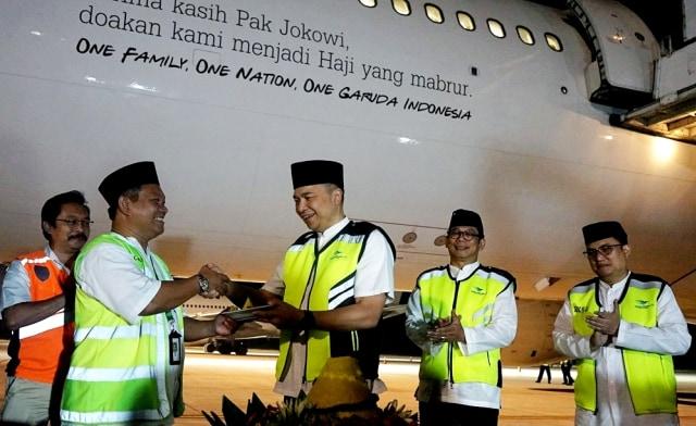 """Gerindra: """"Terima Kasih Jokowi"""" Itu Upaya Direksi Garuda Cari Muka Biar Selamat"""