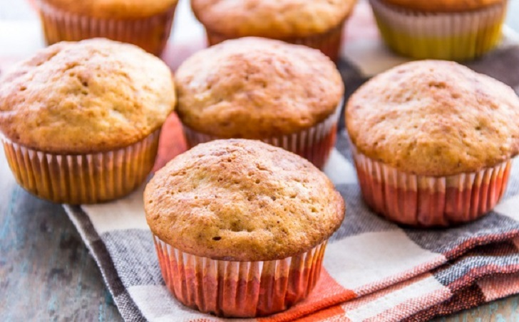 Soft and Delicious Banana Muffins