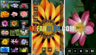 Modified nokia sleeping screen with new wallpapers for nokia n8.