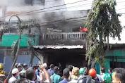 Toko Perabot di Medan Terbakar, Satu Orang Tewas